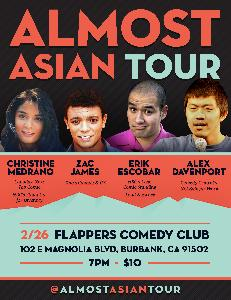Almost Asian Comedy Tour